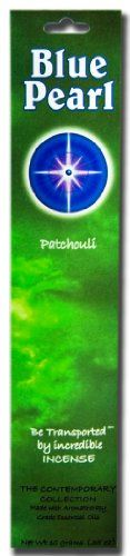 Blue Pearl Contemporary Collection Incense Patchouli 10 Gram >>> Continue to the product at the image link.