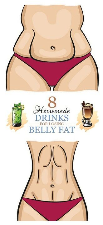 8 Homemade Drinks that Melts Belly Fat fast.