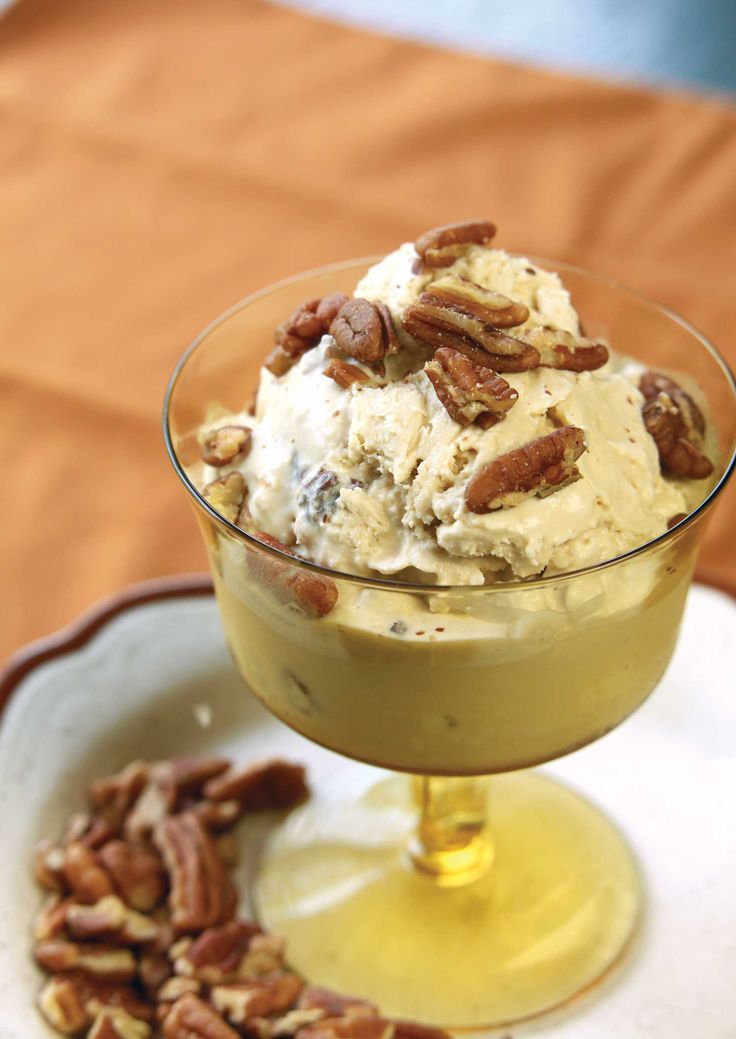 Prepare for rave reviews when you serve this easy-to-make Butter Pecan Ice Cream Recipe.
