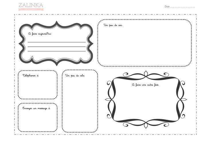 fiche gratuite d 39 organisation quotidienne afficher fiches imprimer pinterest. Black Bedroom Furniture Sets. Home Design Ideas