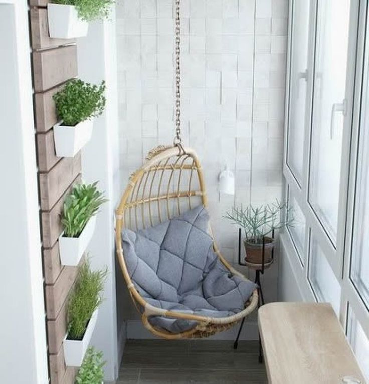 Ideas para decorar balcones pequeños - Espaciodeco.com - Idea 17240