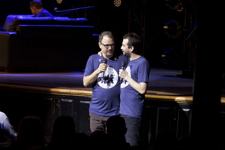 Matthew Good & Jay Baruchel performing at Massey Hall in Toronto for the 2014 Canada's Walk of Fame #Festival.