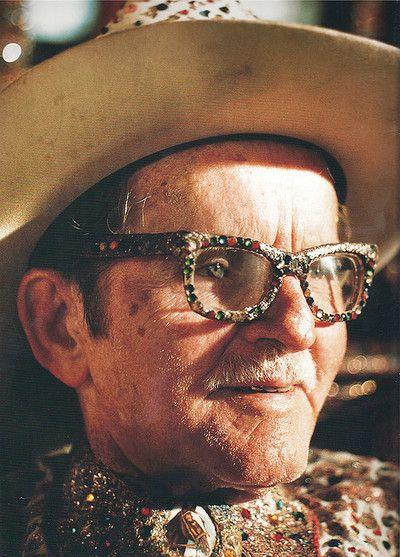 Outsider artist Loy Allen Bowlin (1909–1995), The Original Rhinestone Cowboy