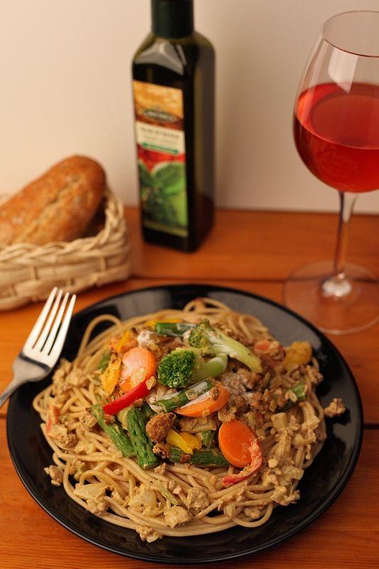 Een lekker makkelijk gerecht, voor een snelle stevige maaltijd. Het hoeft zeker niet moeilijk te zijn om vegan te eten!