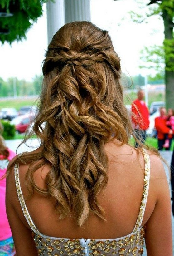 A special half-up heart hairstyle for those of you who love LOVE! Follow me- Riley McNeill