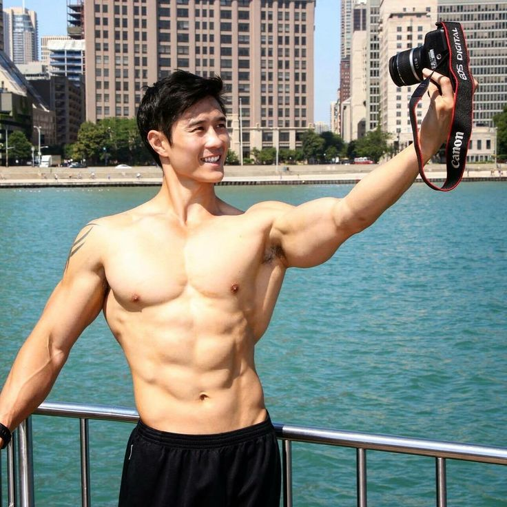 Fashion Male Model: Six Pack Abs Model Peter Le is from