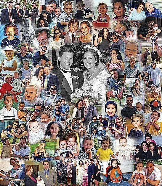 Photo Collage Idea | Custom Made Photographs Collages | Photo Gift Ideas | Blended Photo Collages