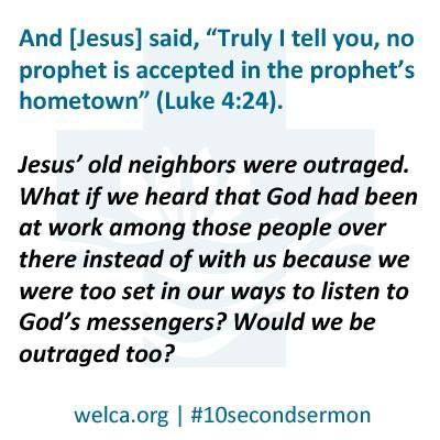 Luke 4:24