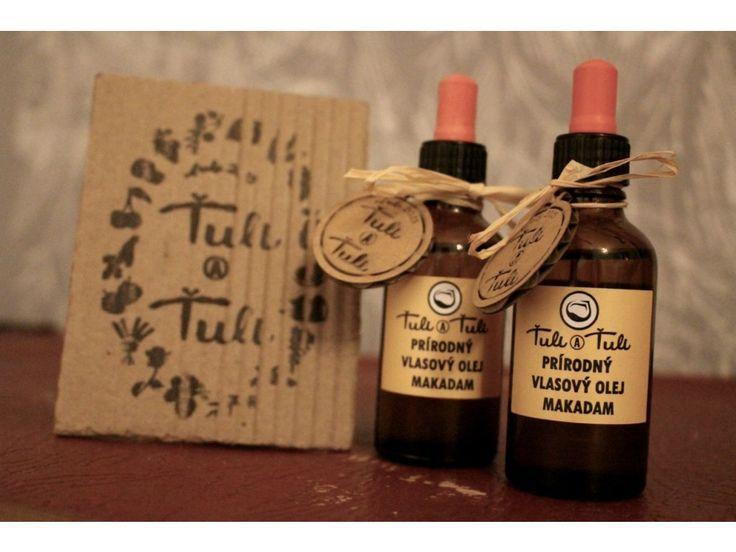 Prírodný vlasový olej Makadam