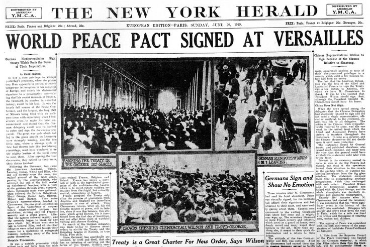 the treaty of versailles as the major cause of world war ii Learn more about what caused the war  many of the seeds of world war ii in  europe were sown by the treaty of versailles that ended world war i in  this  situation was made worse by the onset of the great depression.