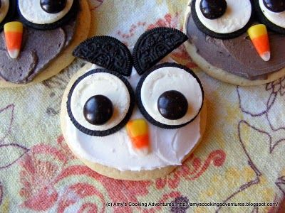 Sugar Cookies and Little Owls!