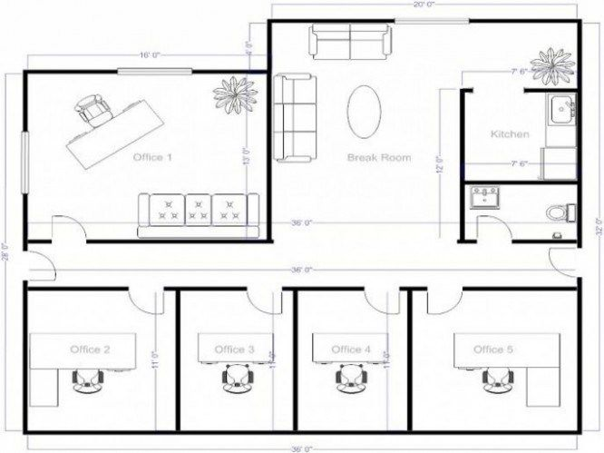 21 Advice That You Must Listen Before Embarking On House Blueprints Maker Online House Blueprints Maker O Small Office Design Office Floor Plan Office Layout
