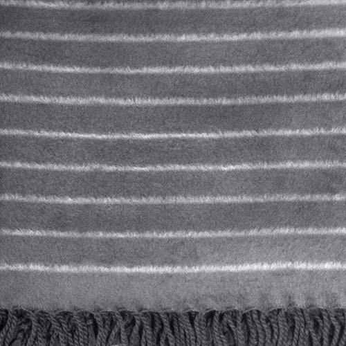 Bamboo Throw Blanket - We Call It Panther Stripe.