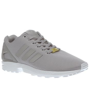 Adidas Light Grey Zx Flux Weave Mens Trainers The 80s sensation get s a modern revamp as the adidas ZX Flux Weave arrives on the scene. Sporting a light grey woven fabric upper, minimal 3-Stripe branding and a TPU heel counter shapes the style. A http://www.MightGet.com/january-2017-13/adidas-light-grey-zx-flux-weave-mens-trainers.asp