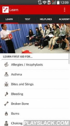 First Aid Singapore Red Cross  Android App - playslack.com , Simple. Free. It can save a life. The official Singapore Red Cross First Aid app gives you instant access to the information you need to know to handle the most common first aid emergencies. With videos, interactive quizzes and simple step-by-step advice it's never been easier to know first aid.