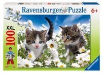 Puzzle Pisicute Si Margarete, 100 Piese | Bebeart