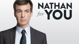 Nathan Fielder is a business advisor who implements strategies that no traditional consultant would dare attempt. Whether it's creating a coffee shop called Dumb Starbucks, inventing a poo-flavored yogurt or staging an elaborate video where a pig saves a goat, no idea is too daring. And while Nathan's efforts may not always succeed, they always have big results. This is Nathan For You.