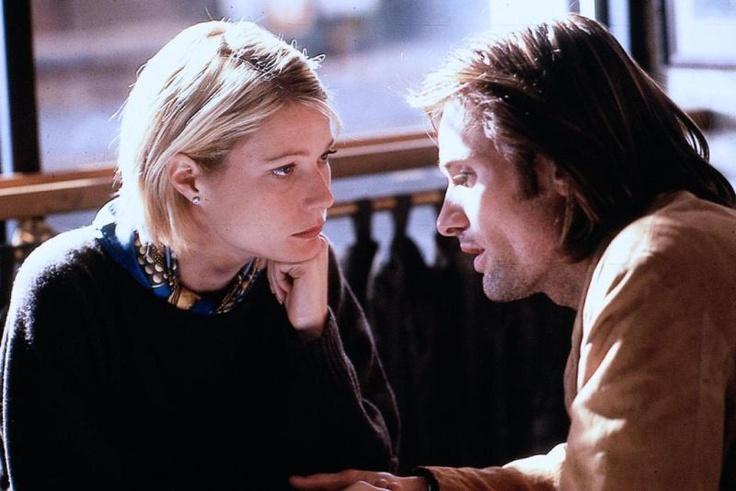 """Viggo Mortensen & Gwyneth Paltrow in """"A Perfect Murder"""""""