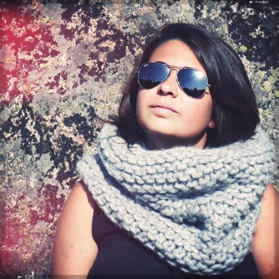 mon chamallow un snood au point mousse en laine super moelleuse   Modèle tricot facile, Tricot ...