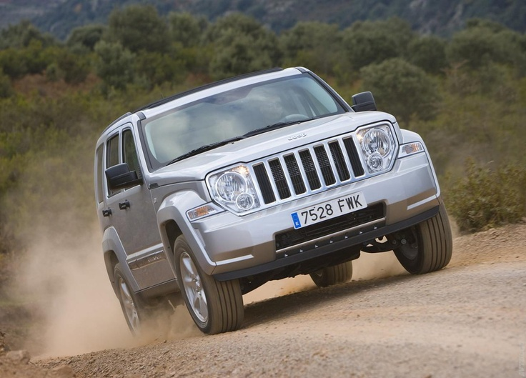 2008 Jeep Cherokee. Sorensen is not going to be too happy about what happens to his car.