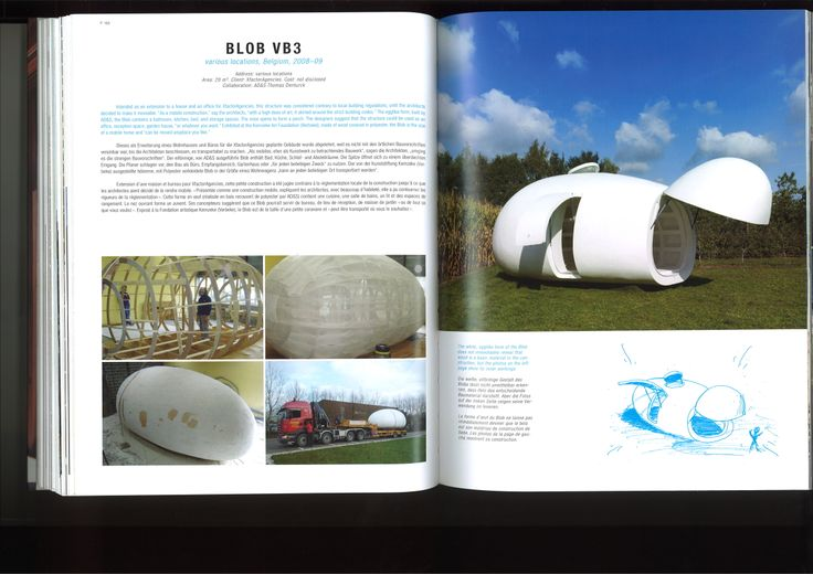 BLOB VB3 in Belgium from WOOD ARCHITECTURE NOW!
