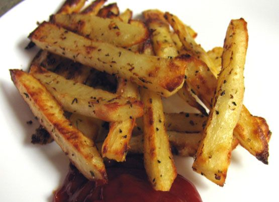 Rachael Ray's Secret Ingredient Oven Steak Fries | Foodgasm Recipes