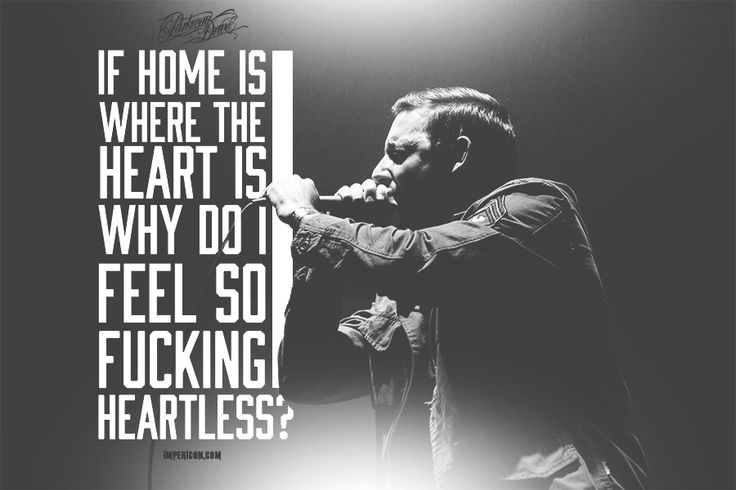 Parkway Drive - Home Is For The Heartless