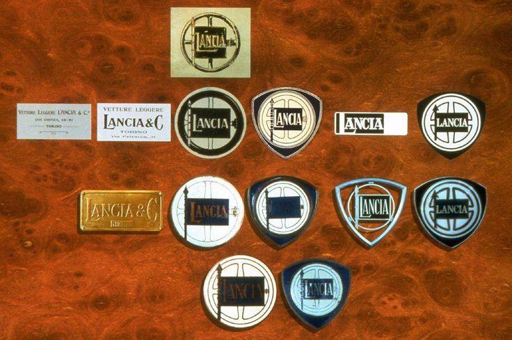 Historyczna kolekcja emblematów Lancii. Który najbardziej Wam się podoba?