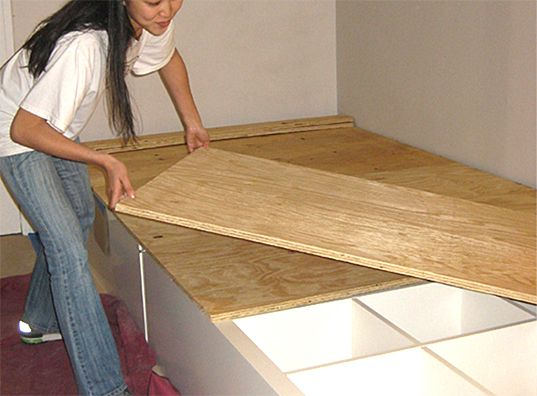 HOW TO: Make Your Own DIY Storage Bed | Inhabitat - Sustainable Design Innovation, Eco Architecture, Green Building