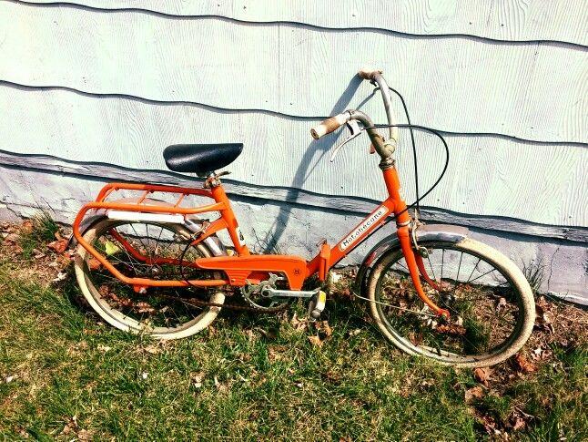 Vintage Folding Bike Motobecane French Made Perfect