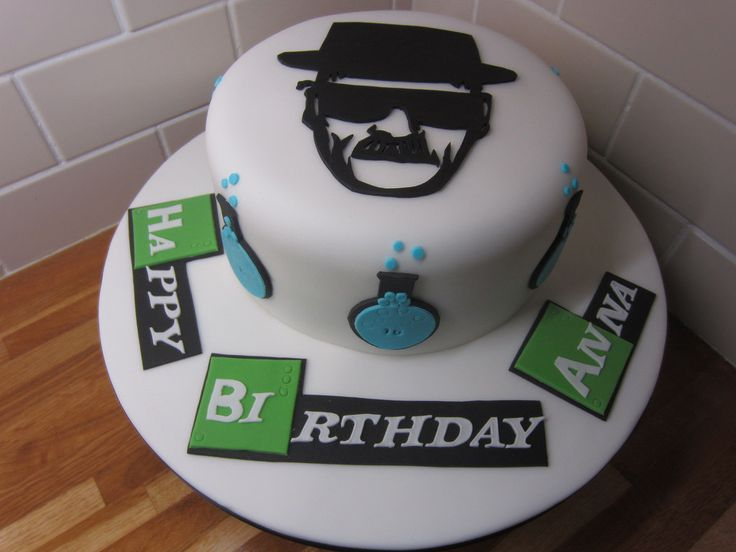Breaking bad birthday cake