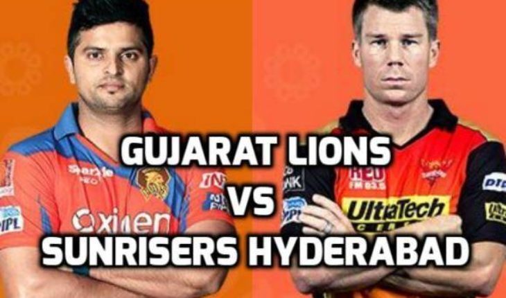 Gujarat Lions vs Sunrisers Hyderabad Live Cricket Score,  IPL 2016