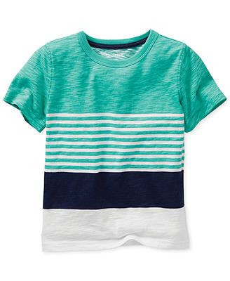 Carter's Baby Boys' Striped Tee
