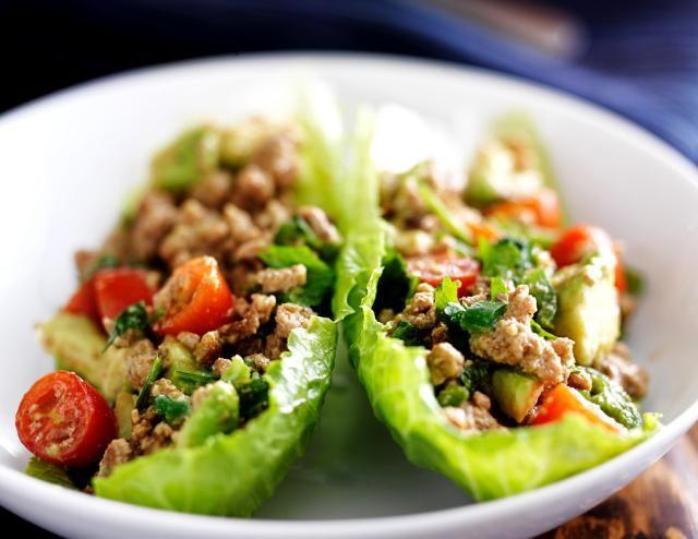 Crisp & Crunchy Thai Lettuce Wraps!