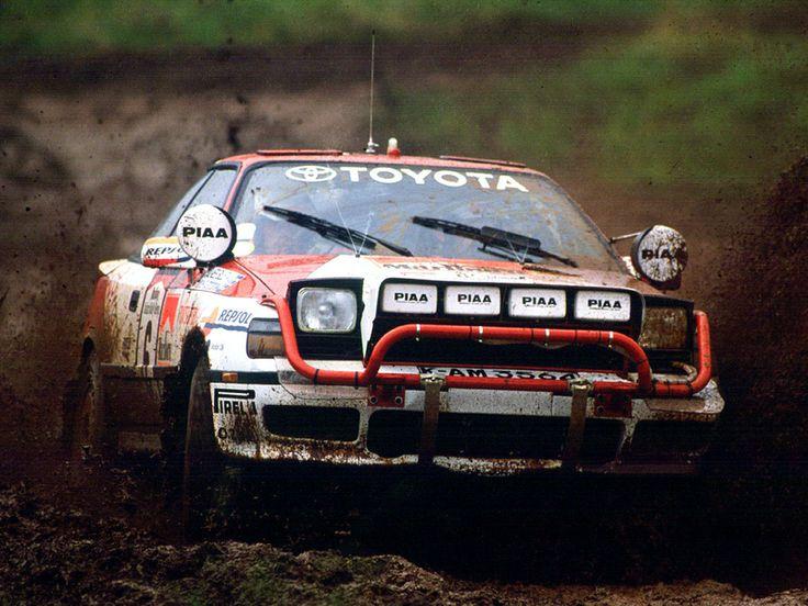 Tie drošības rāmji vai kā viņus tur sauc :D Toyota Celica GT4 rally car