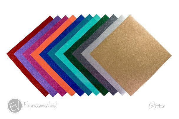 Glitter 12 X24 Vinyl Sheet Adhesive Vinyl Sheets Vinyl Sheets Expressions Vinyl
