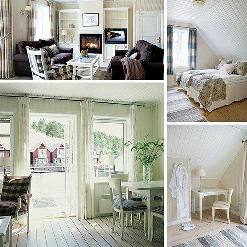 Hotellrom, Sjøboder og Villaer Vakkert i kystlandskapet ytterst på Hurumlandet, ligger Holmsbu Hotel & Spaplassert nederst ved fjæra i nydelig skjærgårdsidyll. Hos osstrenger du ikke å bo på …