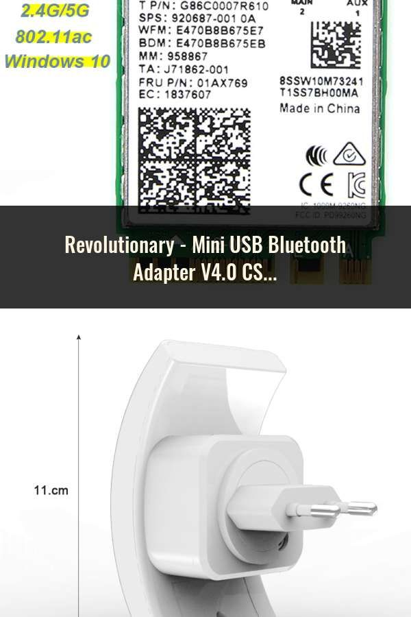 High speed mini usb bluetooth csr 4. 0 dongle adapter 20-50m for pc.