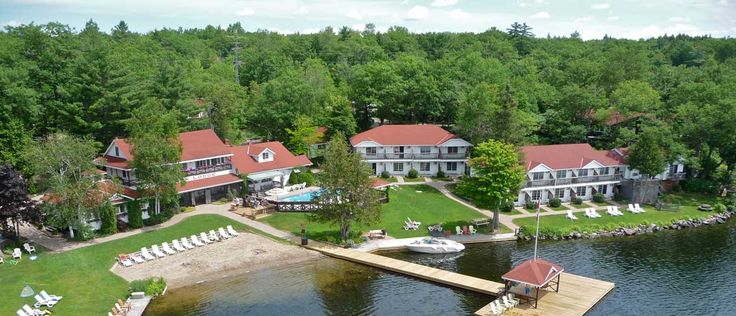 Severn Lodge - Aerial View