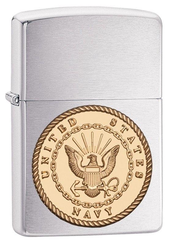Zippo Navy Emblem Lighter