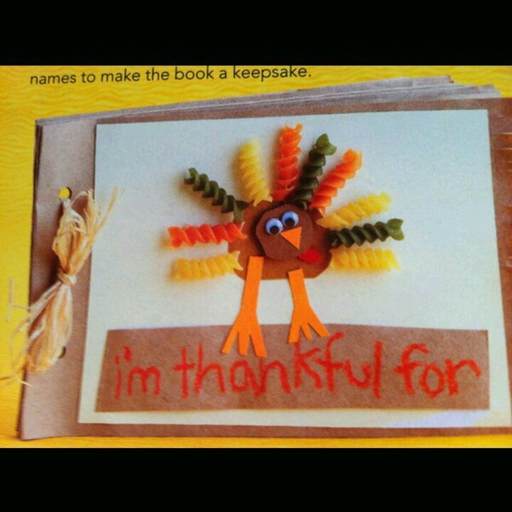 Such A Cute Pasta Turkey Perfect Thanksgiving Day Craft For Kids