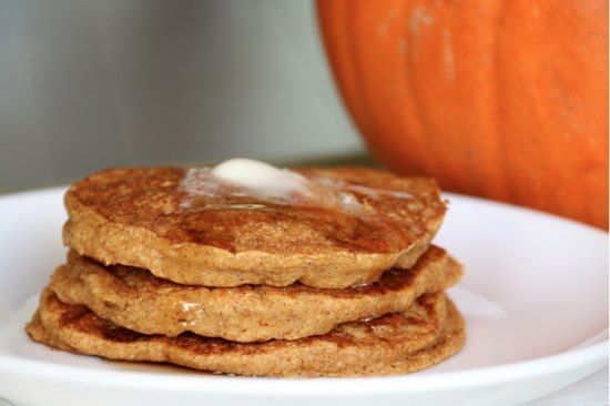 Pumpkin Pancakes - a friend tried these adding some mini chocolate chips and said they were amazing!
