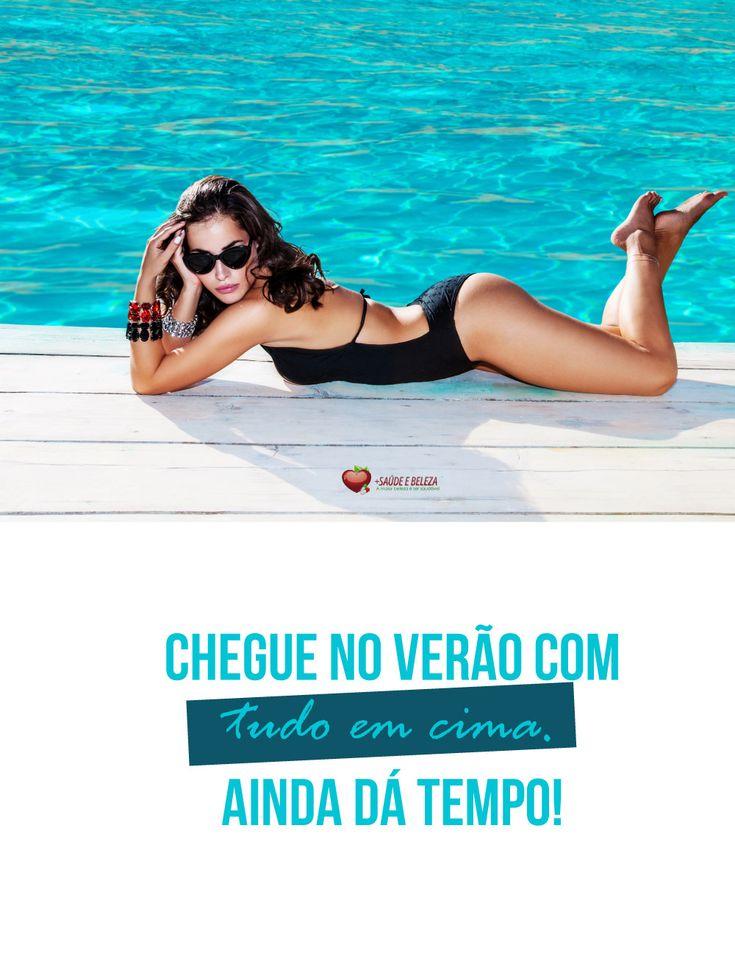 Não faça feio no Verão 2018! 😎  👉 Chegue no Verão com tudo. Ainda dá tempo!   👉 Compre já! http://www.maissaudeebeleza.com.br/d/1/alimentos--funcionais?utm_source=pinterest&utm_medium=link&utm_campaign=Verao+com+Tudo&utm_content=post  🏷️    🚩 Você também pode comprar no WhatsApp (41) 8868-4301   (41) 3022-7393 Seg. à Sex. das 8h às 18h   Sábados das 8h às 12h.