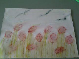 Disegnare un acquerello...senza acquerelli