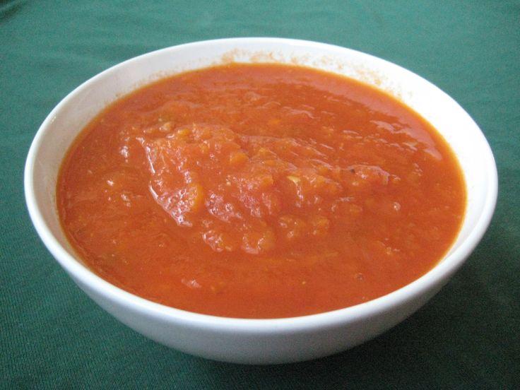 Salsa de tomate sin aceite II
