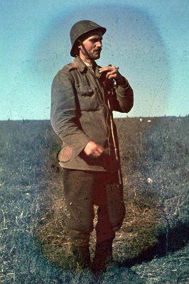 Romanian soldier