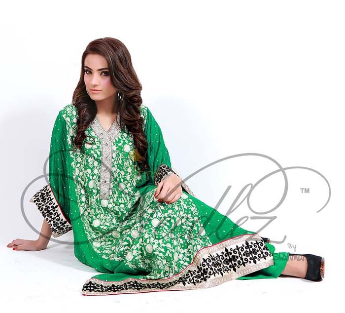 Semi Formal Wear Collection 2014 for Women Needlez by Shalimar: Started in 2007, Needlez carries a very high repute when it comes to Designer Embroidered Fabric in Pakistan. Needlez is a sister con…
