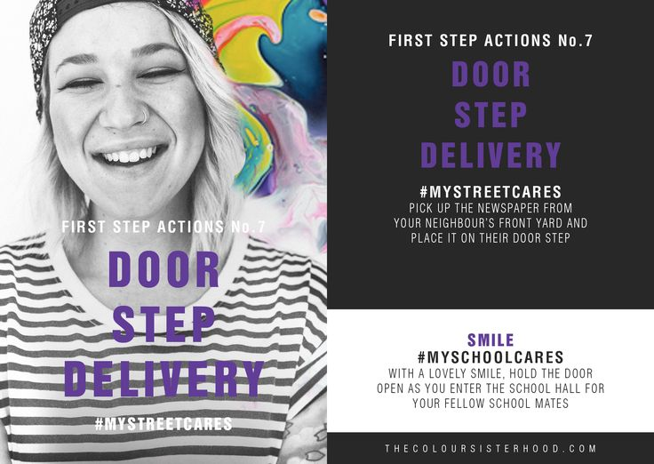 First Step Actions #7