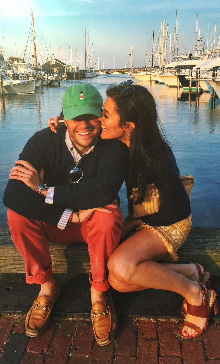 kieljamespatrick: When I saw you I fell in love, and you smiled because you knew. (at Straight Wharf, Nantucket) Nantucket Whispers Love