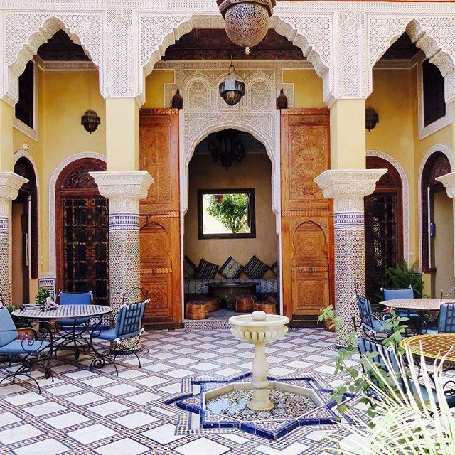 Le suberpe riad Layalina à Fès, Maroc. Un séjour de rêve dans un cadre exceptionnel.